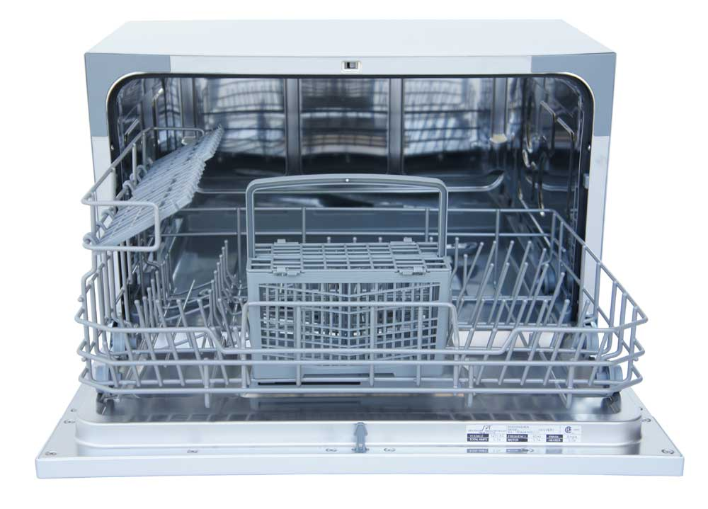 SD-2224DS: Countertop Dishwasher with Delay Start & LED – Silver ...